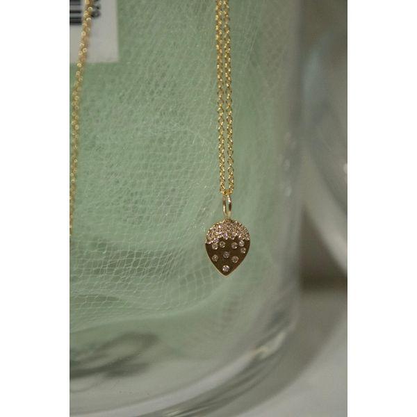14 kt Yellow Gold Diamond Necklace Image 2 Parris Jewelers Hattiesburg, MS