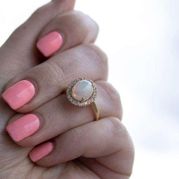 Opal Ring Image 2 Parris Jewelers Hattiesburg, MS