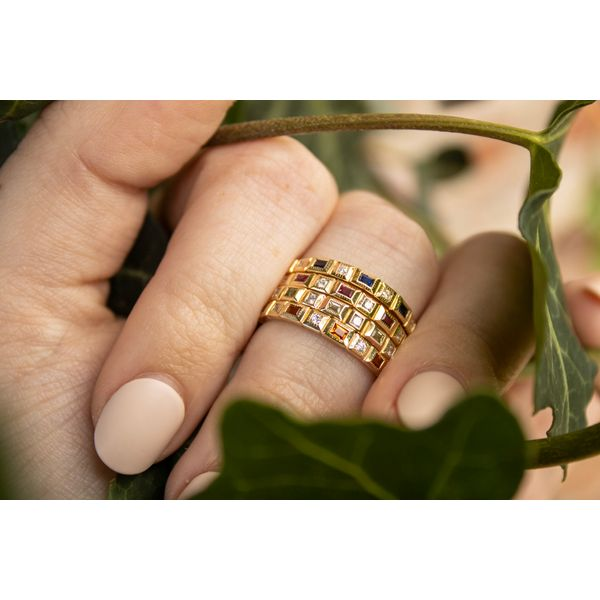 Stackable Band Image 2 Parris Jewelers Hattiesburg, MS