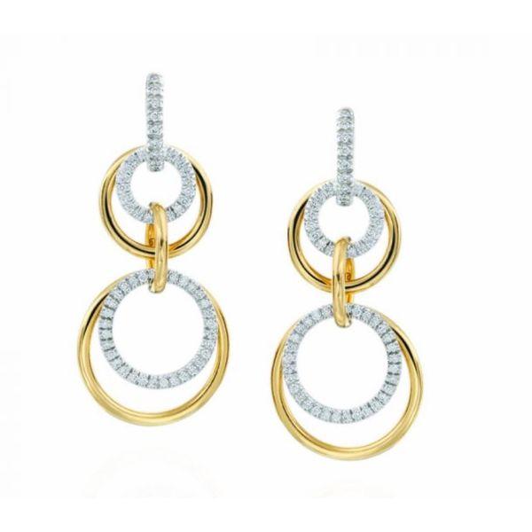 18K Convertible Diamond Earrings Parris Jewelers Hattiesburg, MS