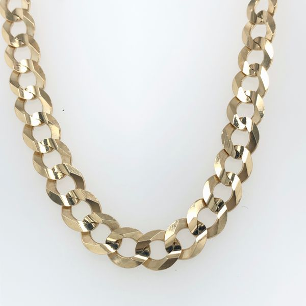 10 kt Yellow Gold Curb Bracelet