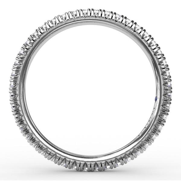 Diamond Eternity Band Image 2 Parris Jewelers Hattiesburg, MS