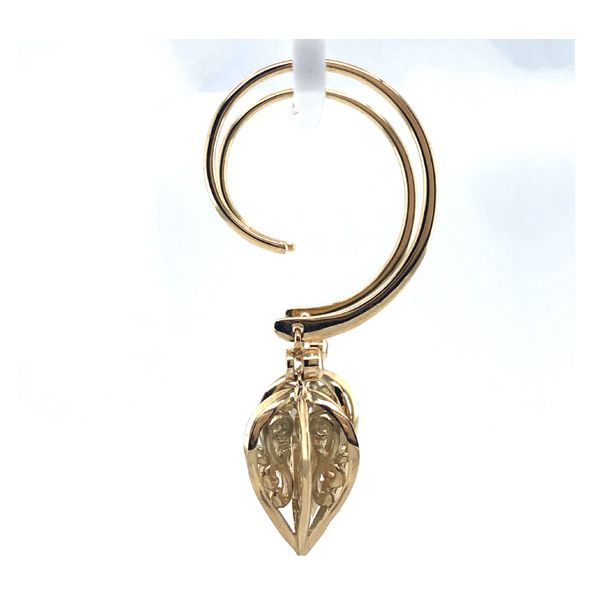 14 Kt Gold Dangle Earrings