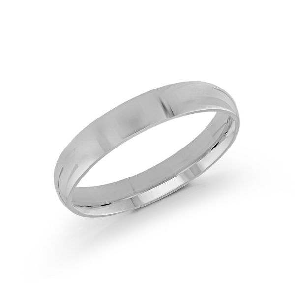 white gold 4mm band