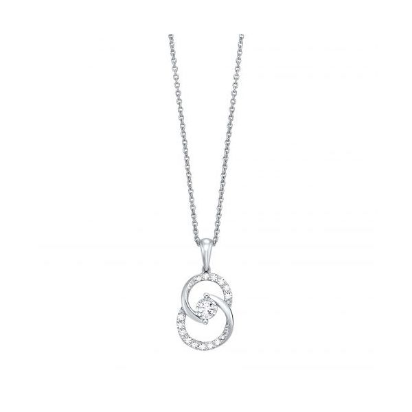 14 kt White Gold Necklace