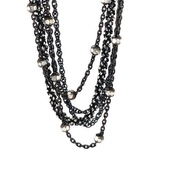 Sterling 5 strand necklace