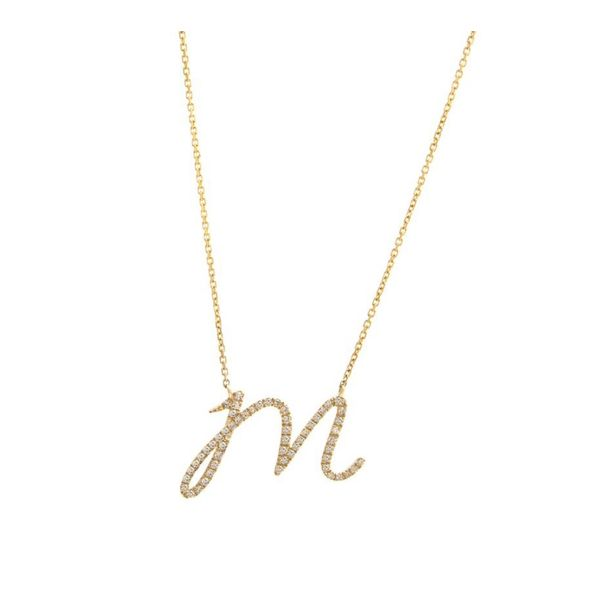 Initial Necklace Parris Jewelers Hattiesburg, MS