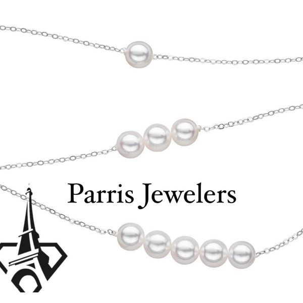 Sterling silver add a pearl necklaces
