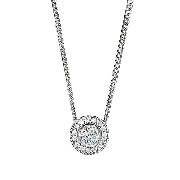 Sterling Silver April Birthstone Necklace Parris Jewelers Hattiesburg, MS