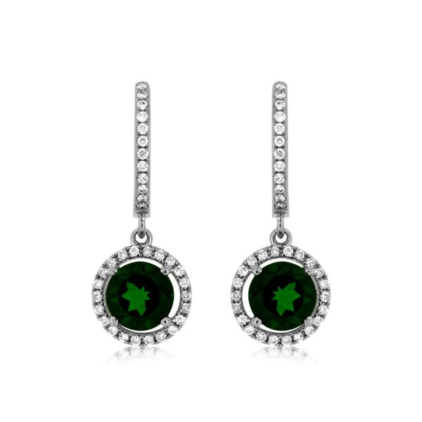 Russalite Colored Stone Earrings