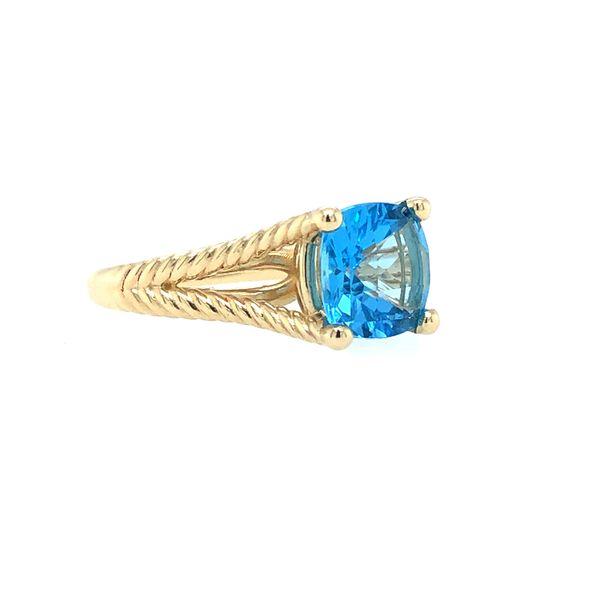 Blue Topaz  David Yurman look