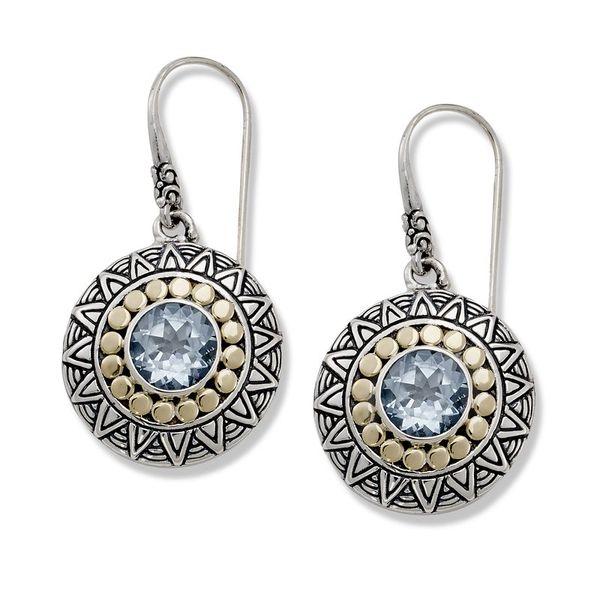 Sterling Tribal Earrings