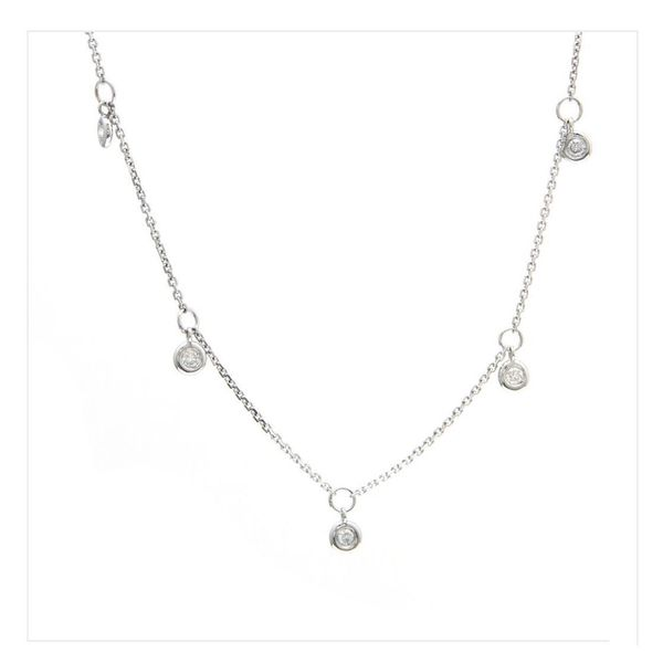 14 kt White Gold Diamond by the Yard