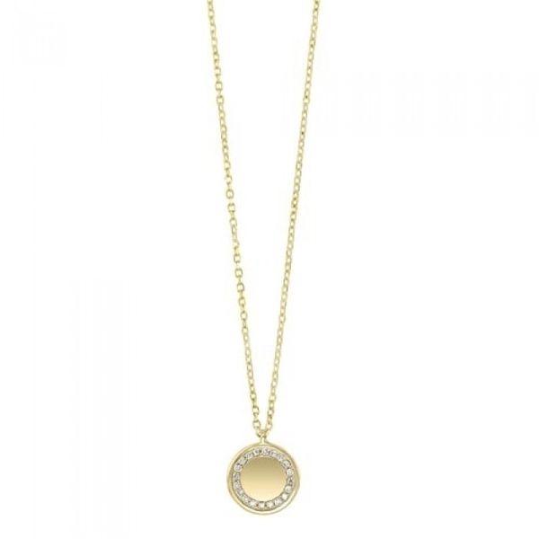 14 kt Engravable Disc Necklace