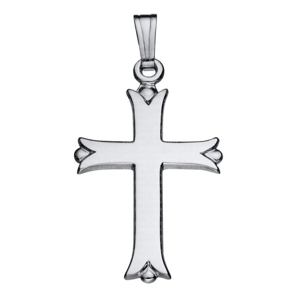 Adult Sterling Silver Cross Necklace