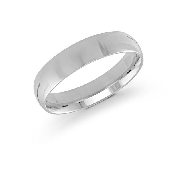White gold 5mm band