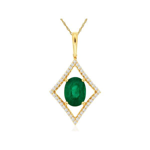Emerald Necklace Parris Jewelers Hattiesburg, MS