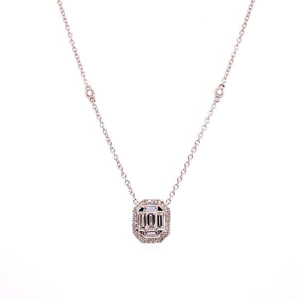 14 kt Diamond Necklace