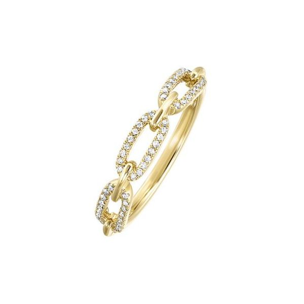 10 kt Yellow Gold Link Band