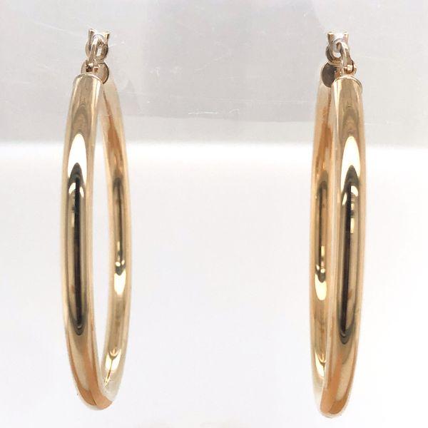 10 kt Gold Hoop Earrings 10 kt