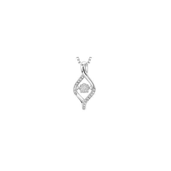 Sterling Silver Rhythm of love necklace