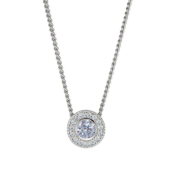 Sterling Silver June Birthstone Necklace Parris Jewelers Hattiesburg, MS