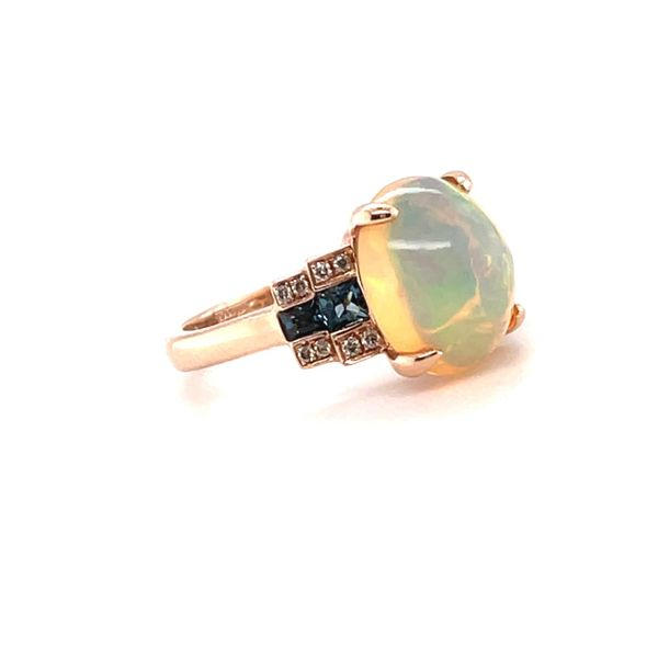 14K Rose Gold Opal Ring