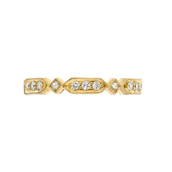18 kt Yellow Gold Diamond Band