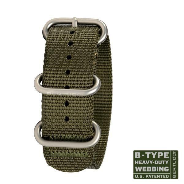 Bertucci Nylon Watch Band Parris Jewelers Hattiesburg, MS