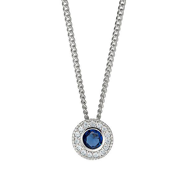 Sterling Silver September Birthstone Necklace Parris Jewelers Hattiesburg, MS