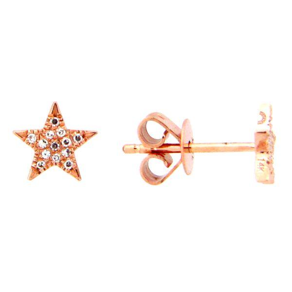 14KT Rose Gold Earrings Parris Jewelers Hattiesburg, MS