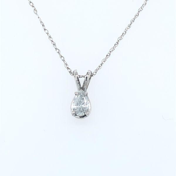 Diamond Solitaire Necklace
