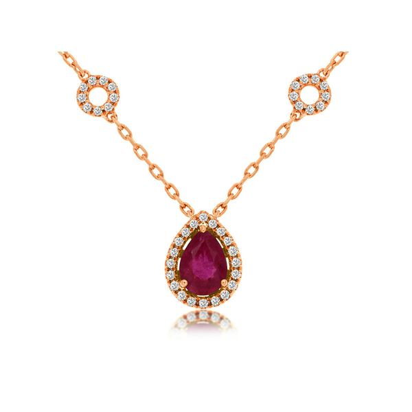 Ruby Necklace Parris Jewelers Hattiesburg, MS