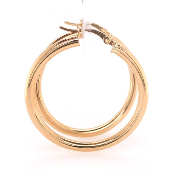 14 kt Yellow Gold Hoop Earrings