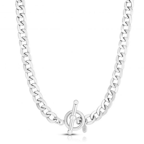 Silver La Gourmette Toggle Chain