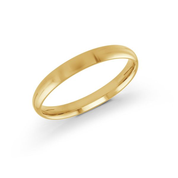 yellow gold 3mm band