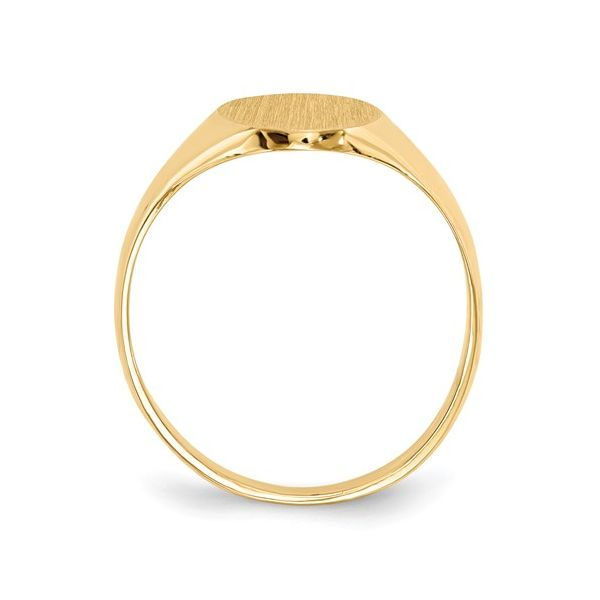 Yellow Gold Signet Ring Image 2 Polly's Fine Jewelry N. Charleston, SC