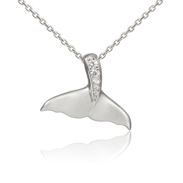 Silver Whale Tail Necklace Polly's Fine Jewelry N. Charleston, SC