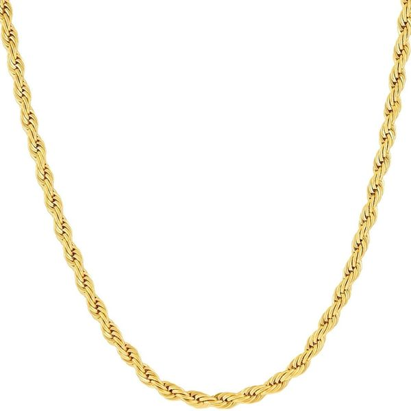 10K Yellow Gold 3mm Rope Chain Image 2 Polly's Fine Jewelry N. Charleston, SC