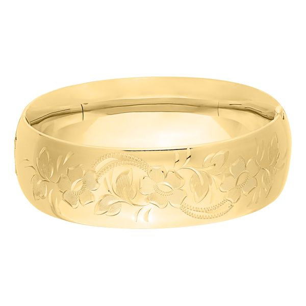 21mm Floral Bangle  Polly's Fine Jewelry N. Charleston, SC