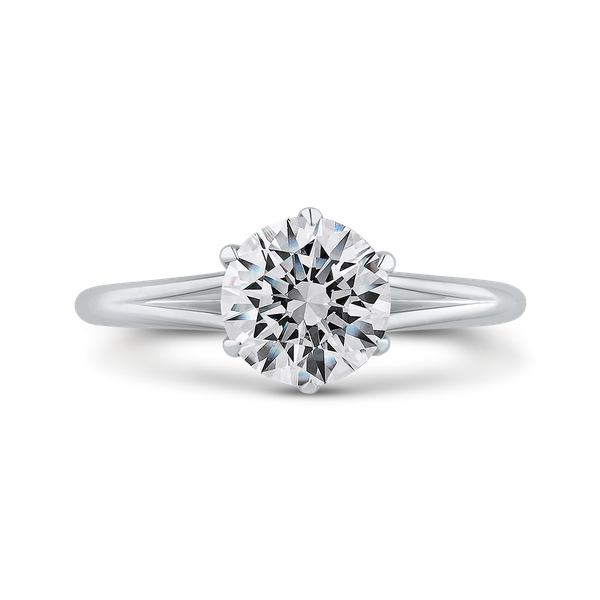 Complete Round Cut 1.04 ctw White Gold Diamond Engagement Ring Polly's Fine Jewelry N. Charleston, SC