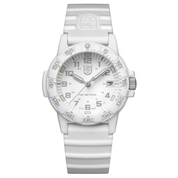 Luminox Leatherback Sea Turtle White Strap Polly's Fine Jewelry N. Charleston, SC