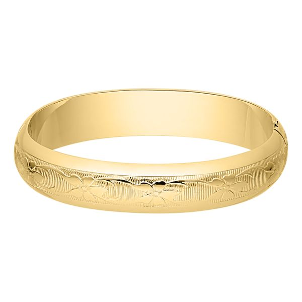 12mm Floral Bangle  Polly's Fine Jewelry N. Charleston, SC