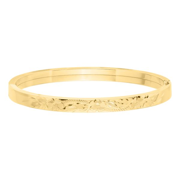 6mm Floral Bangle  Polly's Fine Jewelry N. Charleston, SC