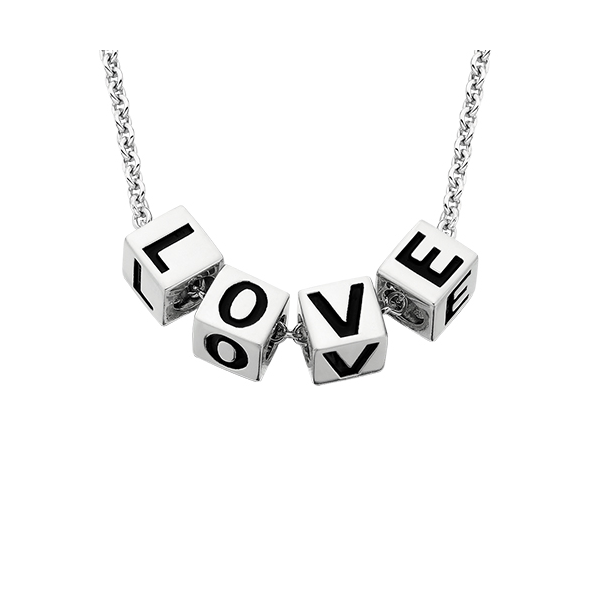 LOVE Block Necklace Reed & Sons Sedalia, MO