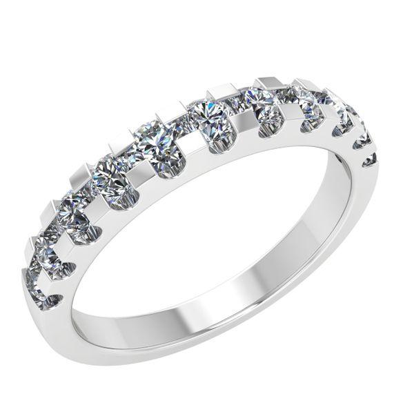 Ladies White Gold Diamond Wedding Band Rialto Jewelry San Antonio, TX