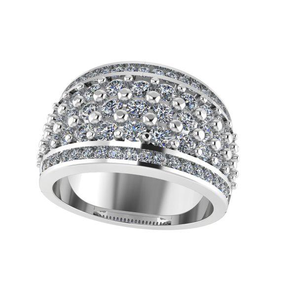 Custom Ladies Diamond Fancy Ring Rialto Jewelry San Antonio, TX