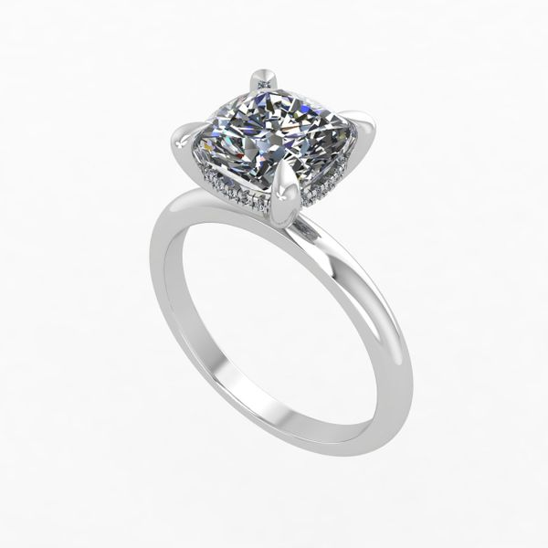 Ladies Solitaire Diamond Engagement Ring Rialto Jewelry San Antonio, TX