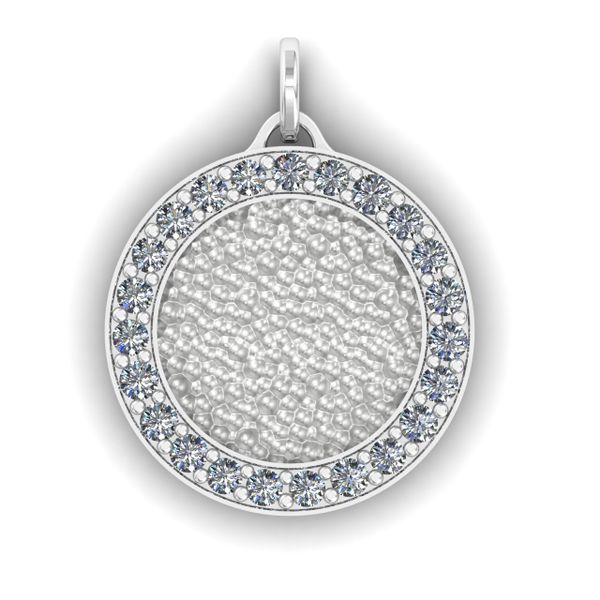 Custom Ladies Diamond Pendant Rialto Jewelry San Antonio, TX