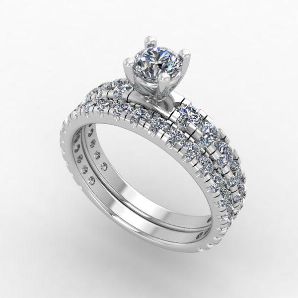 Custom Engagement Ring and Wedding Band Rialto Jewelry San Antonio, TX